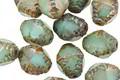 Czech Glass Beach Glass Mix w/ Picasso Etched Bicone 10x8mm