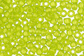 TOHO Sueded Gold Transparent Lime Green Hybrid Round 8/0 Seed Bead
