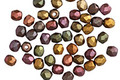 Czech Fire Polished Glass Autumn Metallics Round 3mm