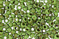 TOHO Frosted Opaque Mint Green Picasso Hybrid Round 8/0 Seed Bead