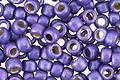 TOHO Permanent Galvanized (Matte) Violet Round 8/0 Seed Bead