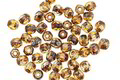 Czech Glass Crystal Picasso Fire Polished Round 3mm