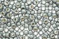 TOHO Permanent Galvanized Frosted Blue Slate Round 8/0 Seed Bead