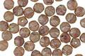 Czech Glass Desert Rose Picasso English Cut Bead 4mm