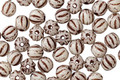 Czech Glass Bronzed White Melon Round 4mm