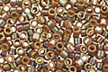 TOHO Opaque Rainbow Frosted Khaki Treasure #1 Seed Bead