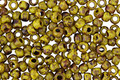 TOHO Frosted Opaque Dandelion Picasso Hybrid Round 8/0 Seed Bead