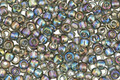 TOHO Transparent Rainbow Gray Round 8/0 Seed Bead