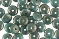Czech Glass Lustered Turquoise Spacer 2x6mm