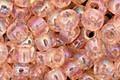 TOHO Transparent Rainbow Rosaline Round 6/0 Seed Bead