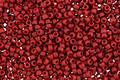 TOHO Semi-Glazed Dark Red Round 15/0 Seed Bead