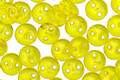 CzechMates Glass Lemon 2-Hole Lentil 6mm