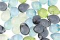 Czech Glass Beach Glass Mix Teardrop 5x7mm