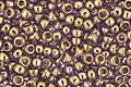 TOHO Gold Lustered Light Tanzanite Round 11/0 Seed Bead