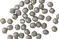 Czech Fire Polished Glass Pacifica Poppy Seed Round 3mm