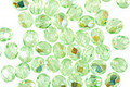 Czech Fire Polished Glass Peridot AB Round 3mm