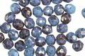 Czech Glass Alice Blue w/ Bronze Luster Fire Polished Round 4mm