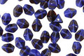 Czech Glass Blueberry Muffin Pinch Bead 4.5x3.5mm
