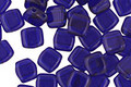 CzechMates Glass Cobalt 2-Hole Tile 6mm