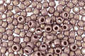 TOHO Sueded Gold Opaque Lavender Hybrid Round 8/0 Seed Bead