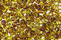 TOHO Transparent Lime Green Picasso Hybrid Round 8/0 Seed Bead