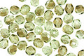 Czech Fire Polished Glass Twilight Peridot Round 4mm