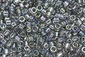 TOHO Aiko Transparent Black Diamond Rainbow Precision Cylinder 11/0 Seed Bead