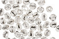 Czech Fire Polished Glass Silver Lined Crystal Round 4mm