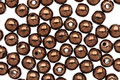 Czech Glass Dark Bronze Round 4mm