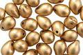 Czech Glass Matte Gold Teardrop 5x7mm
