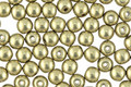 Czech Glass ColorTrends: Saturated Metallic Limelight Round 4mm