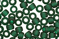 TOHO Transparent Frosted Green Emerald Round 8/0 Seed Bead