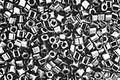 TOHO Metallic Hematite Cube 1.5mm Seed Bead