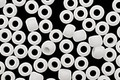TOHO Matte Opaque White Round 6/0 Seed Bead