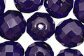 Czech Fire Polished Glass Cobalt Round 12mm