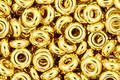 TOHO Metallic 24k Gold Demi Round 8/0 Seed Bead