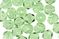 Czech Fire Polished Glass Peridot Round 6mm