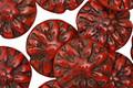 Czech Glass Campfire Picasso Dahlia Coin 14mm