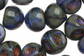 Czech Glass Deep Marina Teardrop 9x8mm