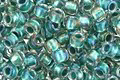 TOHO Rainbow Crystal (with Teal Lining) Round 8/0 Seed Bead