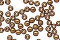 Czech Glass Bronze Round 3mm