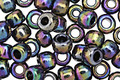 TOHO Metallic Rainbow Iris Round 3/0 Seed Bead