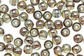 Czech Glass Luster Transparent Green Round 4mm
