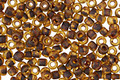 TOHO Frosted Transparent Light Topaz Picasso Hybrid Round 8/0 Seed Bead