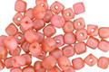Czech Glass Dusty Rose Cube 3mm