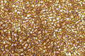 TOHO Topaz (with Gold Lining) Round 15/0 Seed Bead