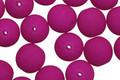 Czech Glass Dark Neon Vivacious Purple Round 8mm