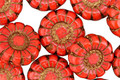 Czech Glass Bronzed Coral Daisy 13mm