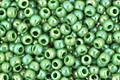 TOHO Opaque Rainbow Mint Green Round 11/0 Seed Bead