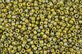TOHO Semi-Glazed Rainbow Olive Round 15/0 Seed Bead